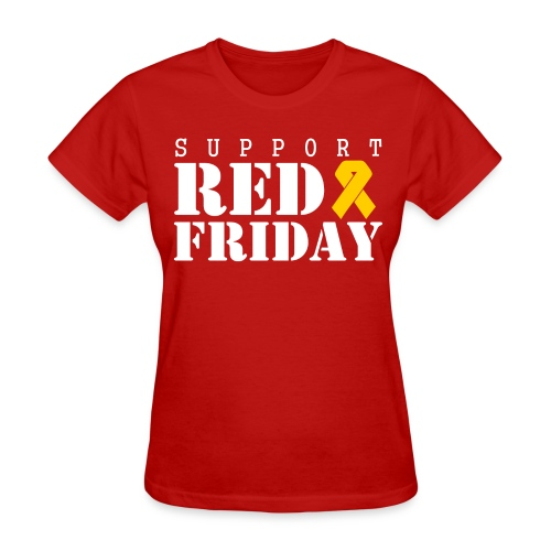 Support RED Friday - Women's T-Shirt