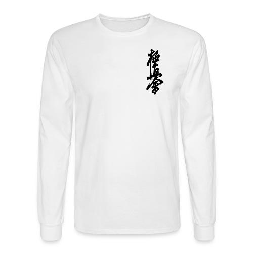 White Long Sleeved Top - Men's Long Sleeve T-Shirt