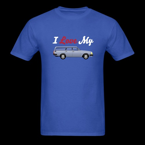 Volvo 240 Wagon Love Shirt - Men's T-Shirt