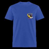 T-Shirts ~ Men's T-Shirt ~ Men's Standard T-shirt (starship orbiting scene on back)