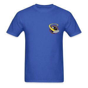 Men's Standard T-shirt (original USS Angeles chapter emblem on back)  - Men's T-Shirt