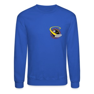 Sweatshirt (starship orbiting scene on back) - Crewneck Sweatshirt