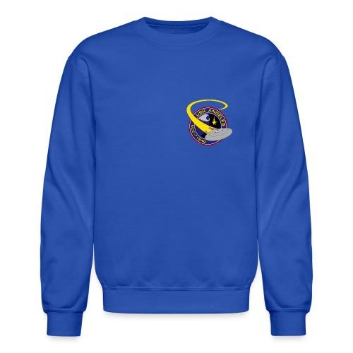 Sweatshirt (starship orbiting scene on back) - Crewneck Sweatshirt