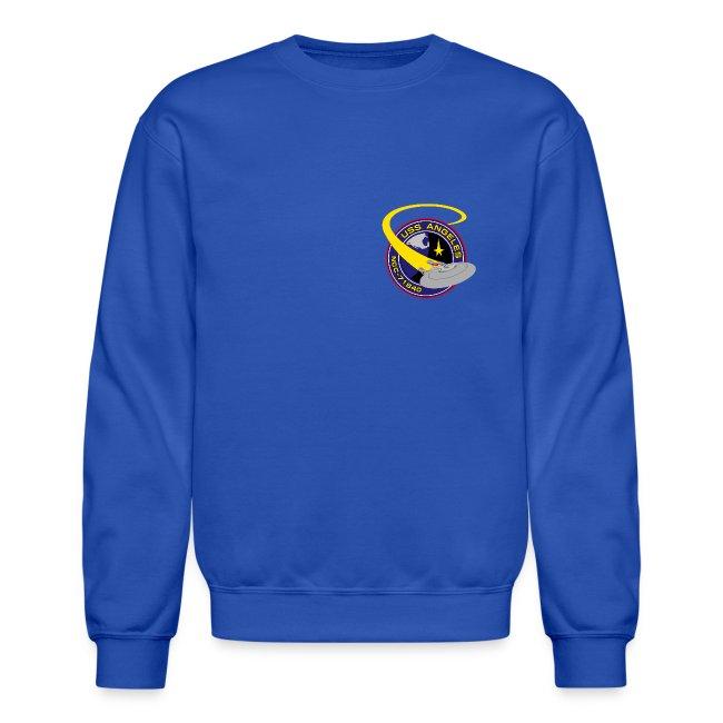 Sweatshirt (starship orbiting scene on back)