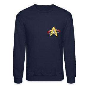 Sweatshirt (new USS Angeles mission logo on back) - Crewneck Sweatshirt
