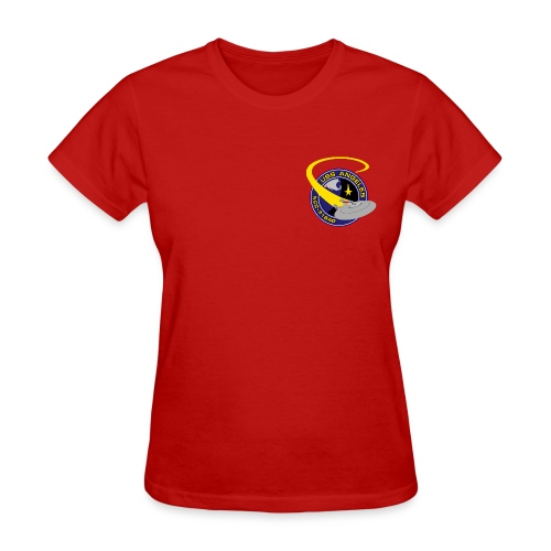 Women's T-shirt (original USS Angeles chapter emblem on back) - Women's T-Shirt
