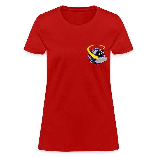 Women's T-shirt (original USS Angeles chapter emblem on back)