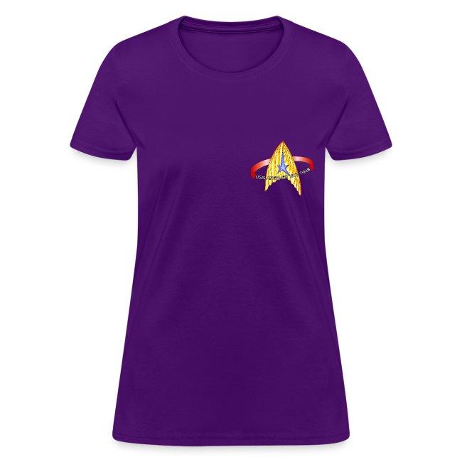 Women's T-shirt (blank back)