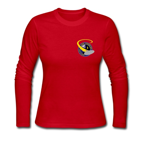 Women's Long Sleeve (original USS Angeles chapter emblem on back) - Women's Long Sleeve Jersey T-Shirt