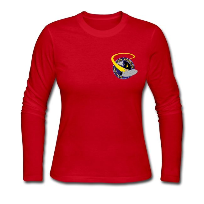 Women's Long Sleeve (starship orbiting scene on back)