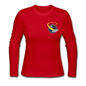 Women's Long Sleeve (NCC-71840 on back) - Women's Long Sleeve Jersey T-Shirt