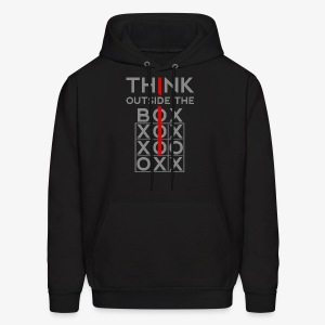 Think Outside The Box - Men's Hoodie