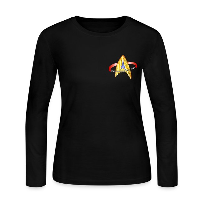Women's Long Sleeve (blank back)