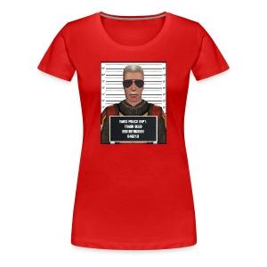 Trask The Bed Intruder Mugshot Tee - Women's - Women's Premium T-Shirt