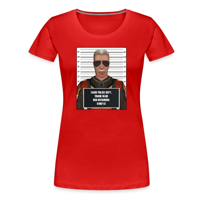 Trask The Bed Intruder Mugshot Tee - Women's