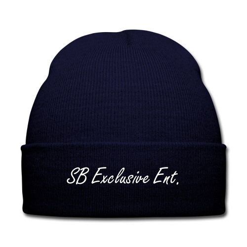 SB Exclusive ENT. Beanie - Knit Cap with Cuff Print
