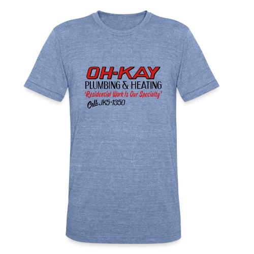 OH-KAY Plumbing & Heating - Unisex Tri-Blend T-Shirt