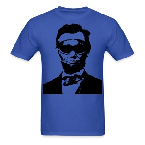 Ski Bum Abraham Lincoln T-Shirt - Men's T-Shirt