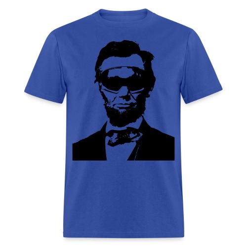 Ski Bum Abraham Lincoln T-Shirt - Men's T-Shirt