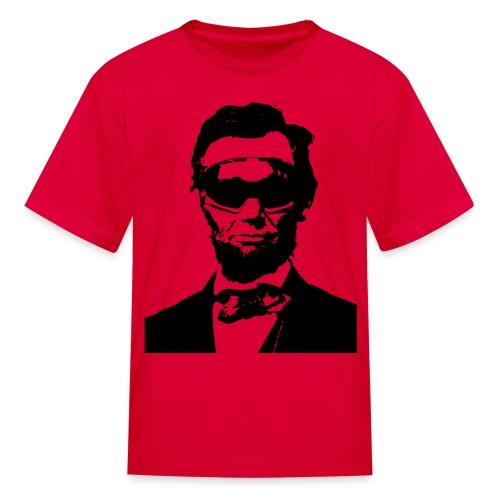 Ski Bum Abraham Lincoln T-Shirt - Kids' - Kids' T-Shirt