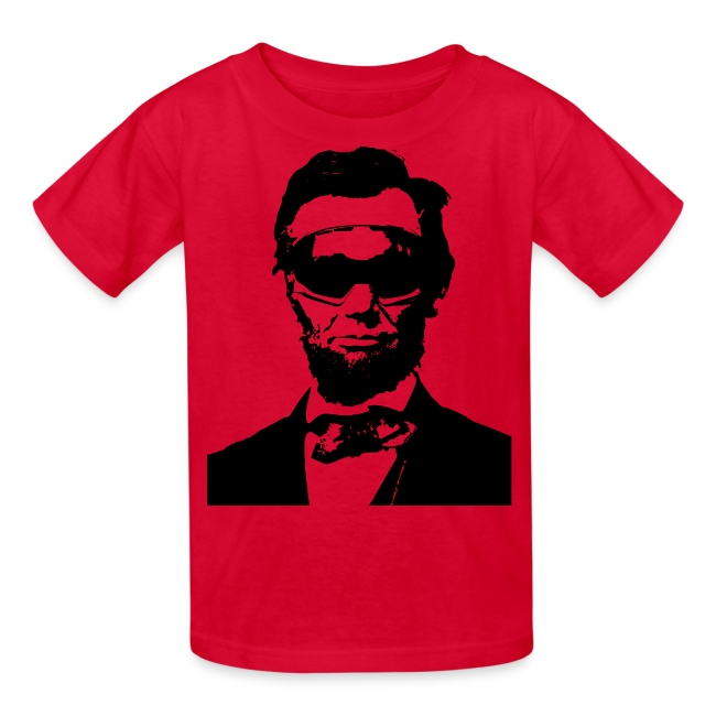 Ski Bum Abraham Lincoln T-Shirt - Kids'