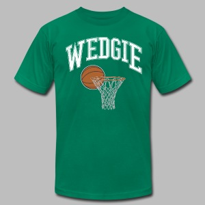 Wedgie - Men's T-Shirt by American Apparel
