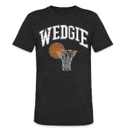 T-Shirts ~ Unisex Tri-Blend T-Shirt by American Apparel ~ Wedgie