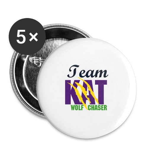 Team Kat button - Buttons small 1'' (5-pack)