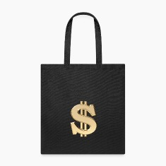3D dollar sign Bags & backpacks