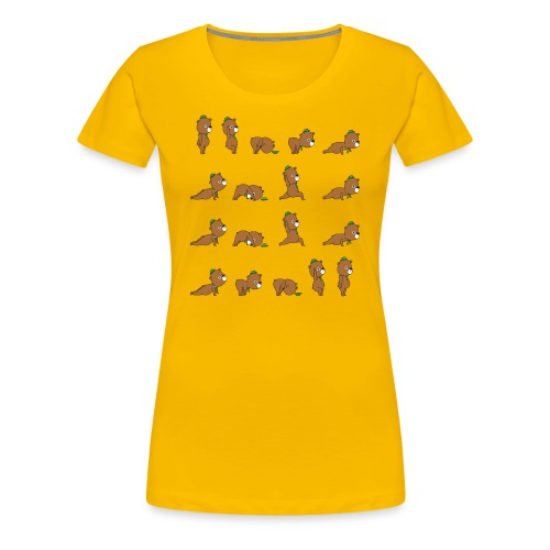 Sun Salutation B - Women's Premium T-Shirt