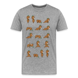 Yoga Bear - Men's Premium T-Shirt