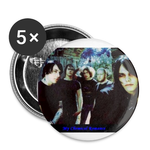 My Chemical Romance 5 pack - Small Buttons
