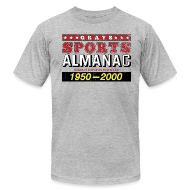 T-Shirts ~ Men's T-Shirt by American Apparel ~ Grays Sports Almanac