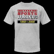 T-Shirts ~ Men's T-Shirt by American Apparel ~ Grays Sports Almanac