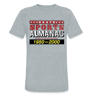 T-Shirts ~ Unisex Tri-Blend T-Shirt ~ Grays Sports Almanac