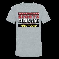 T-Shirts ~ Unisex Tri-Blend T-Shirt by American Apparel ~ Grays Sports Almanac