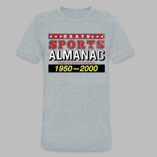 Grays Sports Almanac - Unisex Tri-Blend T-Shirt