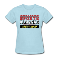 T-Shirts ~ Women's T-Shirt ~ Grays Sports Almanac