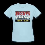 Women's T-Shirts ~ Women's T-Shirt ~ Grays Sports Almanac