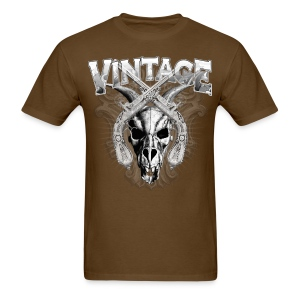 Vintage Dragon Skull T-Shirts - Men's T-Shirt