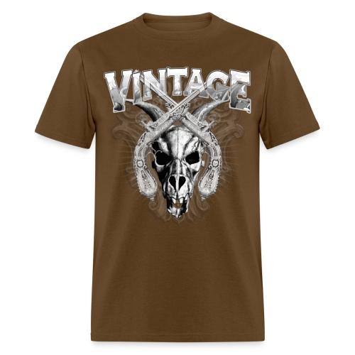 Vintage Dragon Skull T-Shirts - Men's T-Shirt