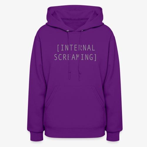 Internal Screaming - Women's Hoodie