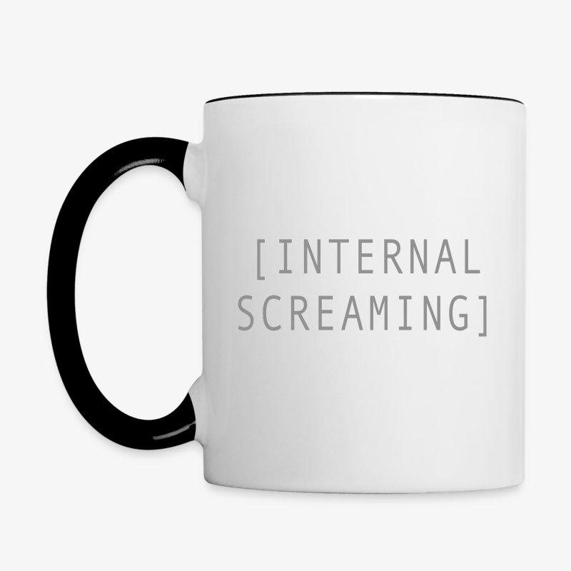 Internal Screaming - Contrast Coffee Mug