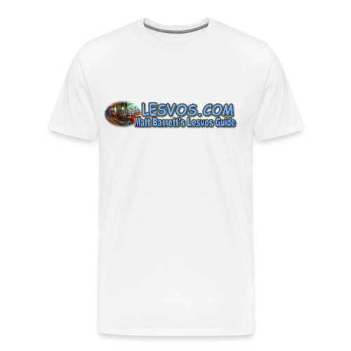 Lesvos Logo 1 (men) - Men's Premium T-Shirt