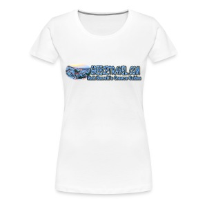 Greecetravel Logo 1 (women) - Women's Premium T-Shirt