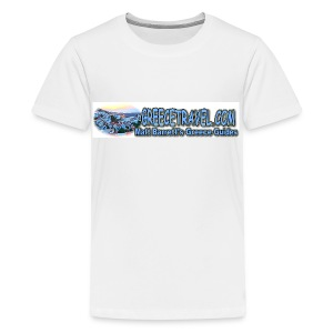 Greecetravel Logo 1 (kids) - Kids' Premium T-Shirt