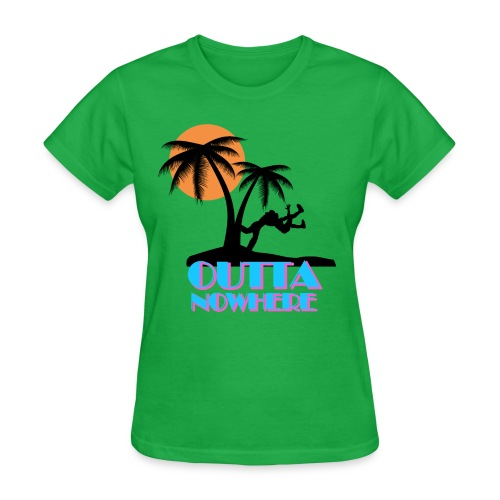 Outta Nowhere - Women's T-Shirt