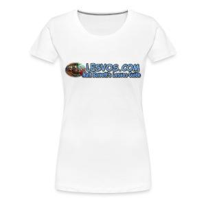 Lesvos Logo 1 (women) - Women's Premium T-Shirt