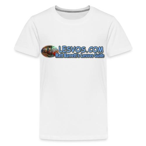 Lesvos Logo 1 (kids) - Kids' Premium T-Shirt