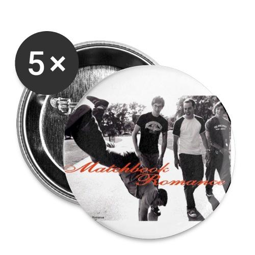Matchbook Romance 5 pack - Small Buttons